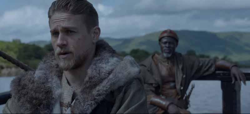 Rei Arthur: A Lenda da Espada no Formiga na Cabine