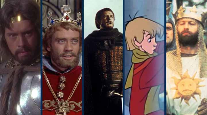 Lista Rei Arthur filme