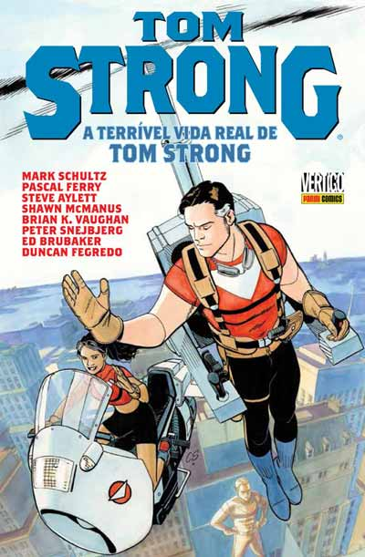 Resenha do quinto volume de Tom Strong