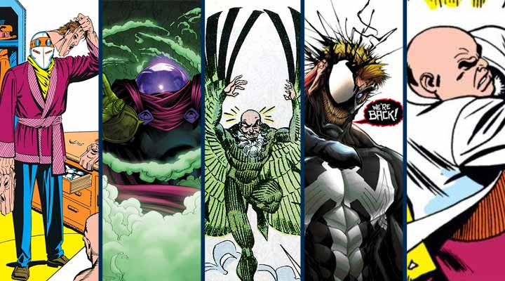 Top 10 Vilões do Homem Aranha