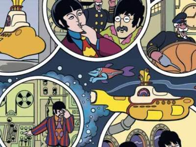 Beatles nas HQ's. Yellow Submarine será adaptado pela Titan Comics.