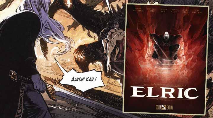 Resenha de Elric O Trono de Rubi