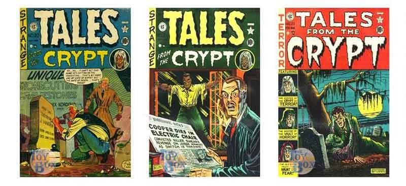 Os Quadrinhos de terror da EC Comics