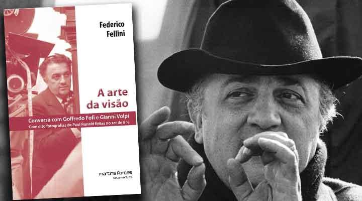 A entrevista com Fellini em A Arte da Visão