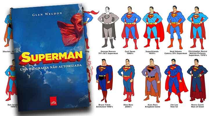 Resenha de Superman Uma Biografia Não Autorizada