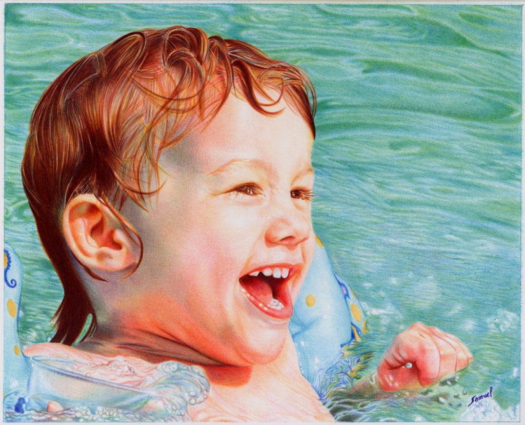 Outras incríveis pinturas feitas com caneta Bic de Samuel Silva 05