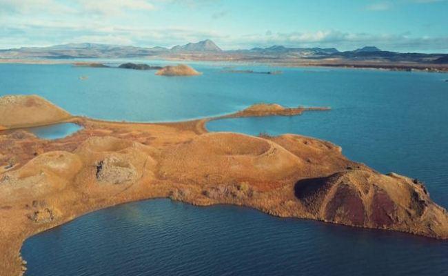 Imagens De Drone Mostram A Beleza única Sobrenatural Da