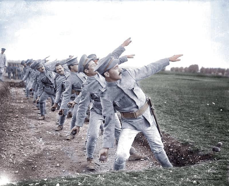 Fotos colorizadas trazem Primeira Guerra à vida 12