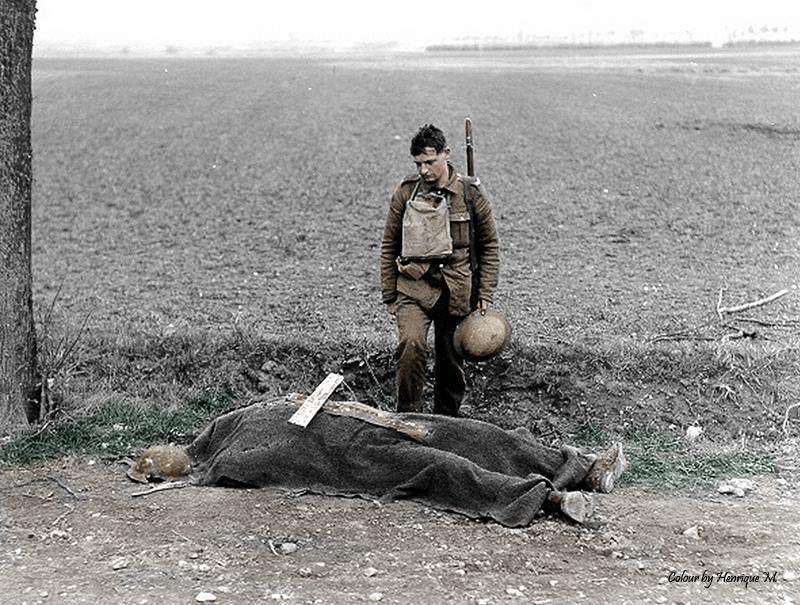 Fotos colorizadas trazem Primeira Guerra à vida 13
