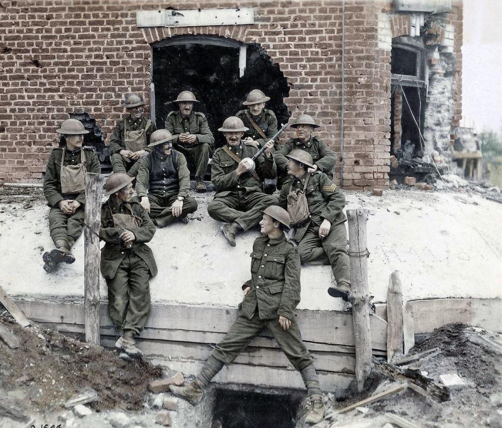 Fotos colorizadas trazem Primeira Guerra à vida 18
