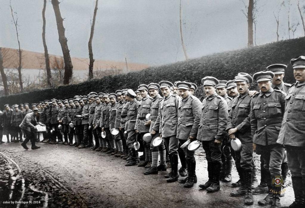 Fotos colorizadas trazem Primeira Guerra à vida 25