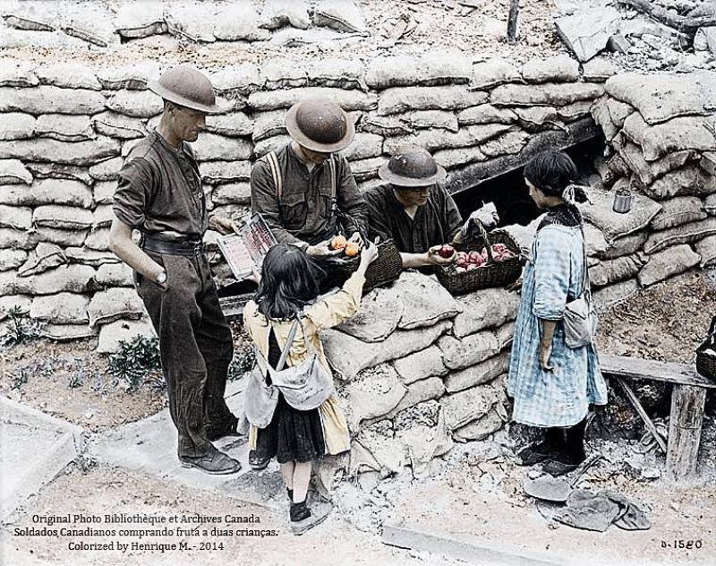Fotos colorizadas trazem Primeira Guerra à vida 29