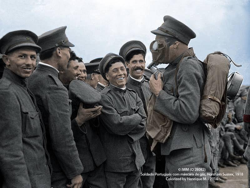 Fotos colorizadas trazem Primeira Guerra à vida 30