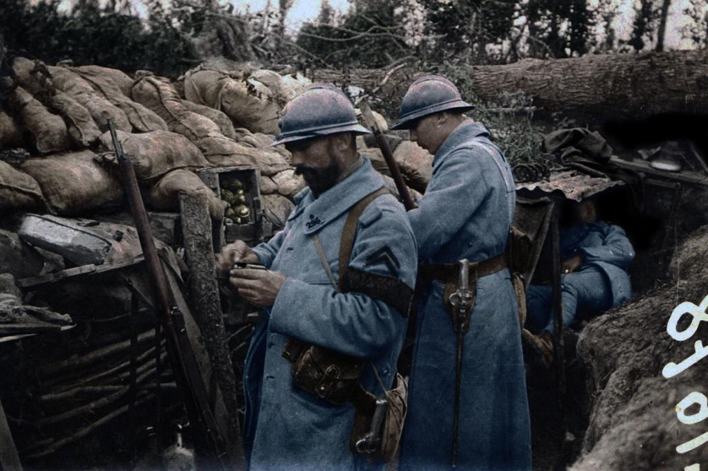 Fotos colorizadas trazem Primeira Guerra à vida 31