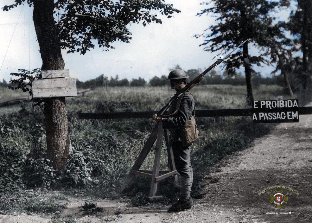 Fotos colorizadas trazem Primeira Guerra à vida 38