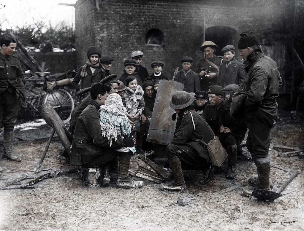 Fotos colorizadas trazem Primeira Guerra à vida 56
