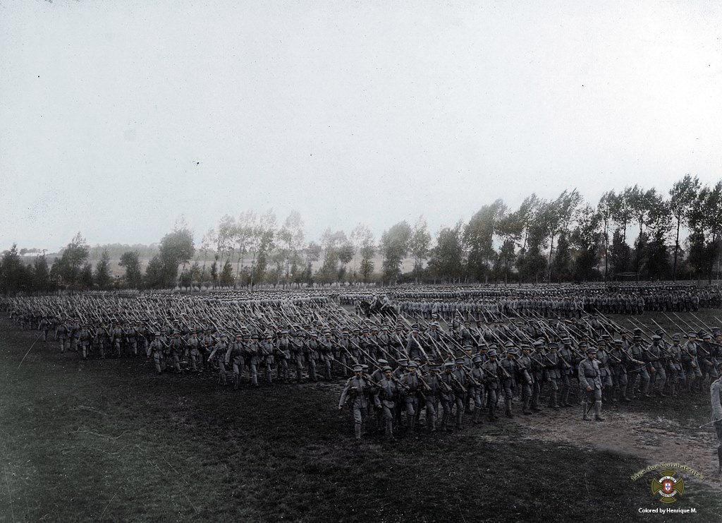 Fotos colorizadas trazem Primeira Guerra à vida 57
