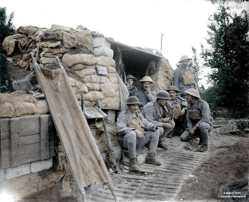 Fotos colorizadas trazem Primeira Guerra à vida 58