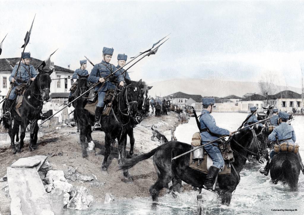 Fotos colorizadas trazem Primeira Guerra à vida 59