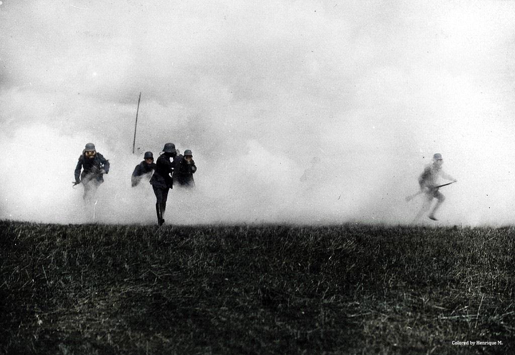 Fotos colorizadas trazem Primeira Guerra à vida 63