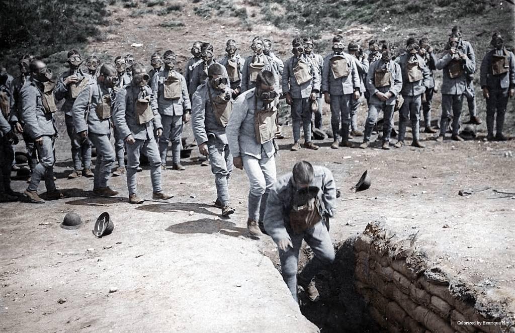 Fotos colorizadas trazem Primeira Guerra à vida 74