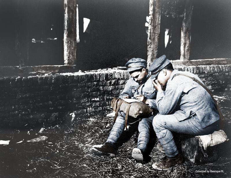 Fotos colorizadas trazem Primeira Guerra à vida 82