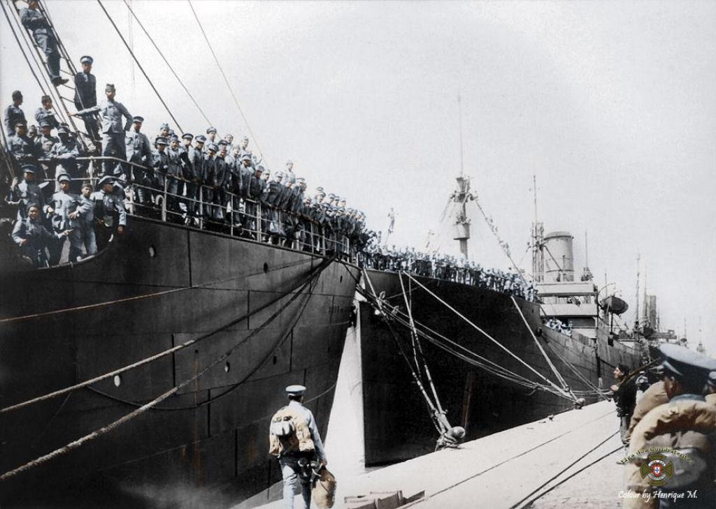 Fotos colorizadas trazem Primeira Guerra à vida 84