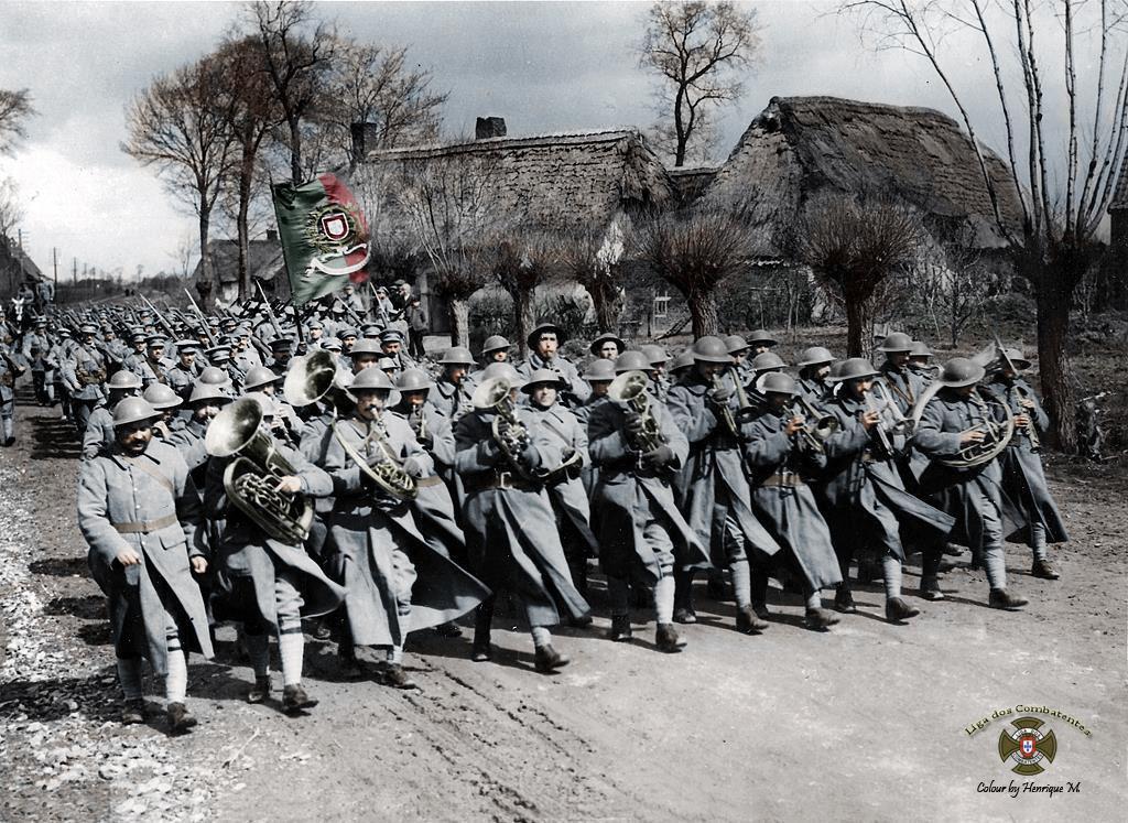 Fotos colorizadas trazem Primeira Guerra à vida 86