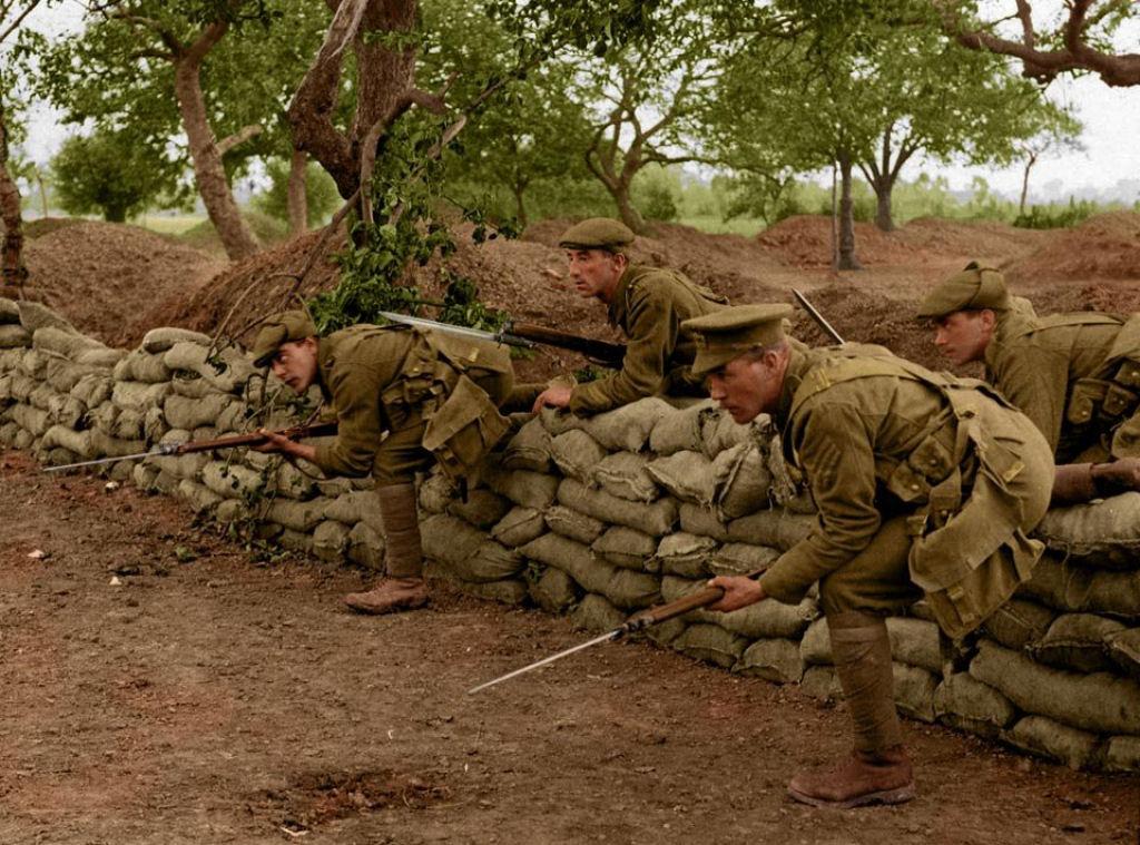 Fotos colorizadas trazem Primeira Guerra à vida 88