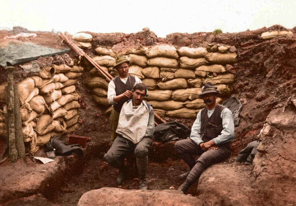 Fotos colorizadas trazem Primeira Guerra à vida 89