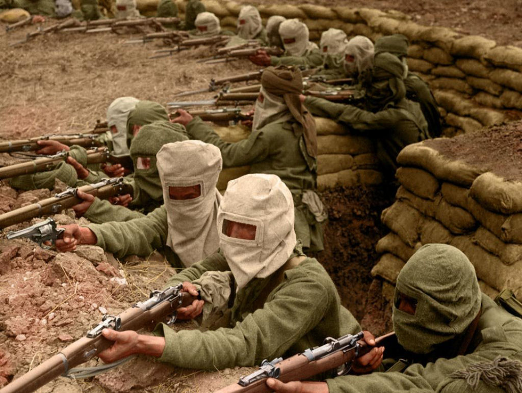 Fotos colorizadas trazem Primeira Guerra à vida 92
