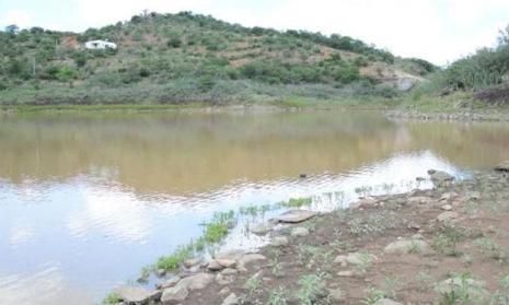 Açude Cachoeira II, que abastece Serra Talhada, está com apenas 6% da capacidade / Foto: reprodução/TV Jornal