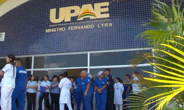 Funcionários da UPAE de Caruaru estão em greve / Foto: reprodução/TV Jornal