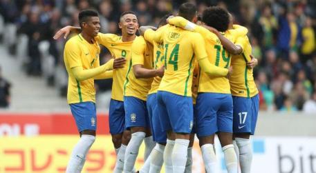 Brasil pode pegar grupo forte no sorteio desta sexta. Foto: Lucas Figueredo/CBF