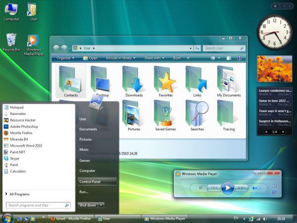Windows7 (Divulgação).