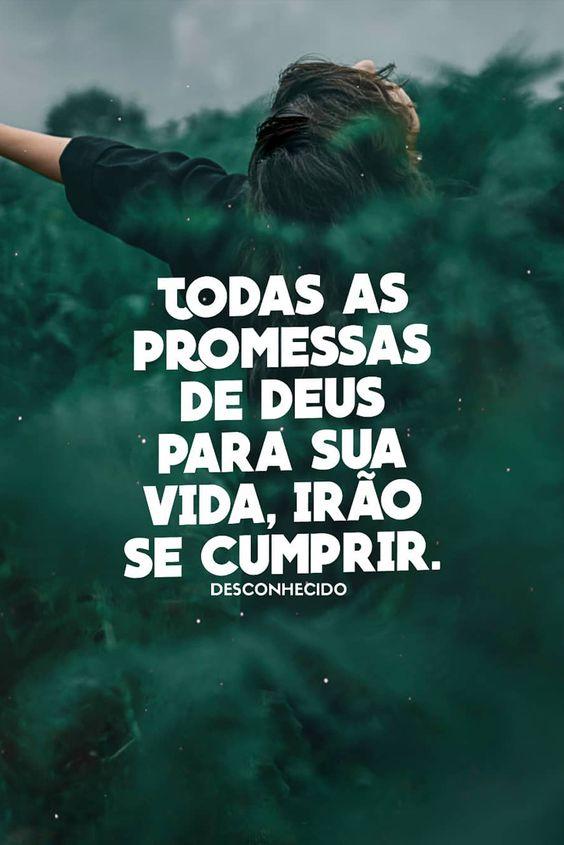 Mensagens de Deus que te motiva a crer nas promessas