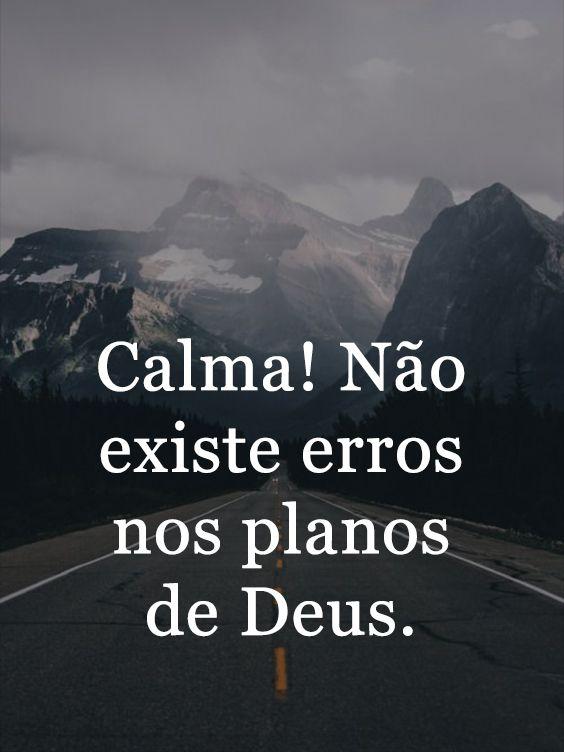 Mensagens de deus e motivação a ter calma