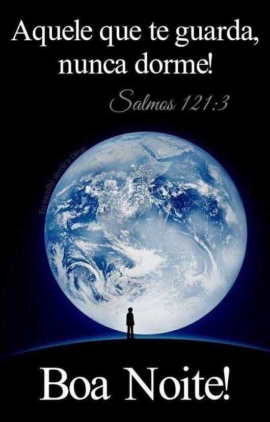 Imagens Bonitas de Boa Noite com Salmos para Ter Paz em Deus
