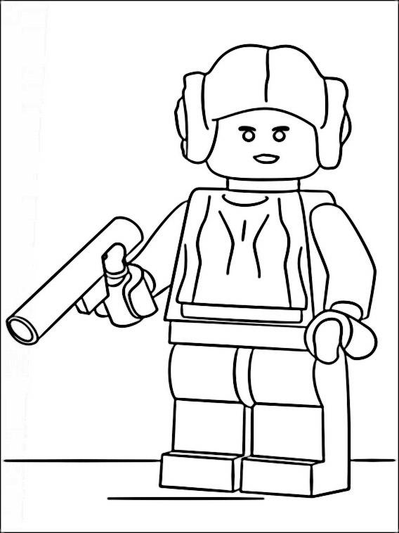 Puede imprimir de forma gratuita en nuestro. Lego Star Wars – desenhos para colorir, pintar e imprimir