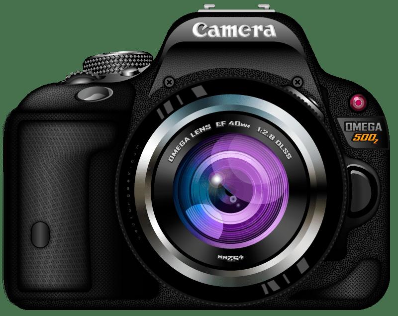 Creative modern camera photography logo icon vector template. Câmera Fotográfica PNG para baixar grátis no ...