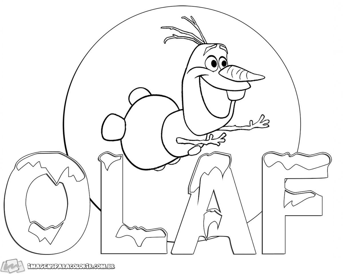 Frozen Olaf 03 Imagens Para Colorir
