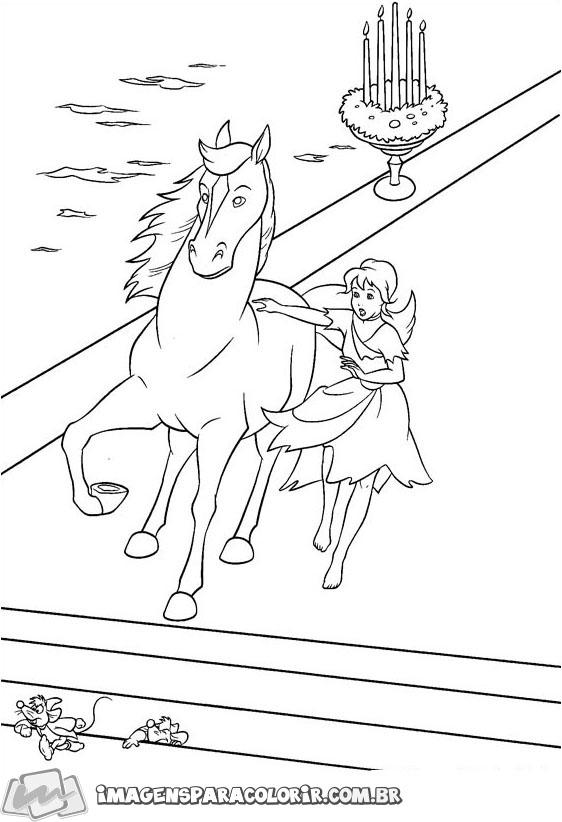 Cinderela no cavalo