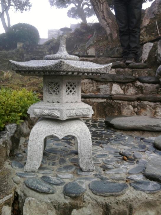 Venta de lmparas para jardn japons de granito
