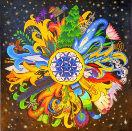 Mandalas Faciles Y Bonitas A Color