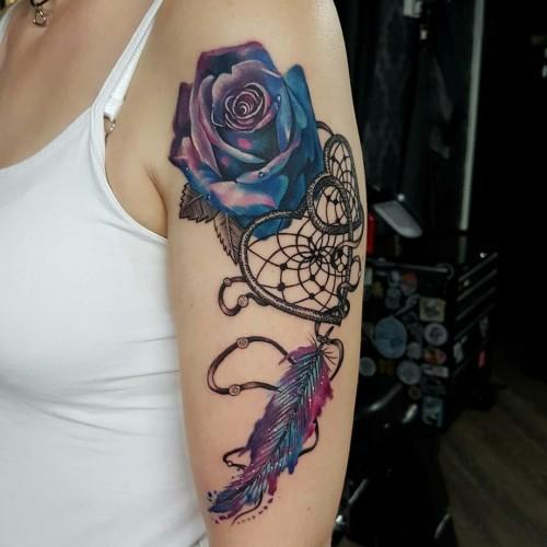 Imágenes De Tatuajes Para Mujeres Con Diseños De Atrapasueños