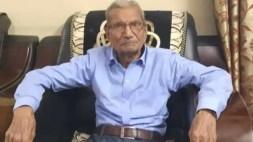 Abuelito con Covid-19 renuncia a su cama en el hospital para salvar a otro paciente