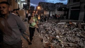 Ya suman 76 muertos por conflicto Israel-Hamás; entre ellos 17 niños