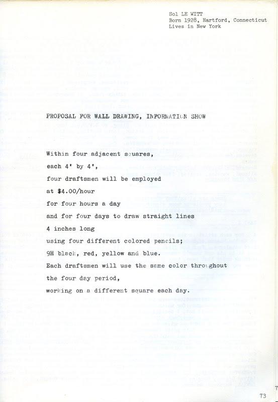 Sol Lewitt Instructional Art, Math, Value - Lessons - Tes Teach
