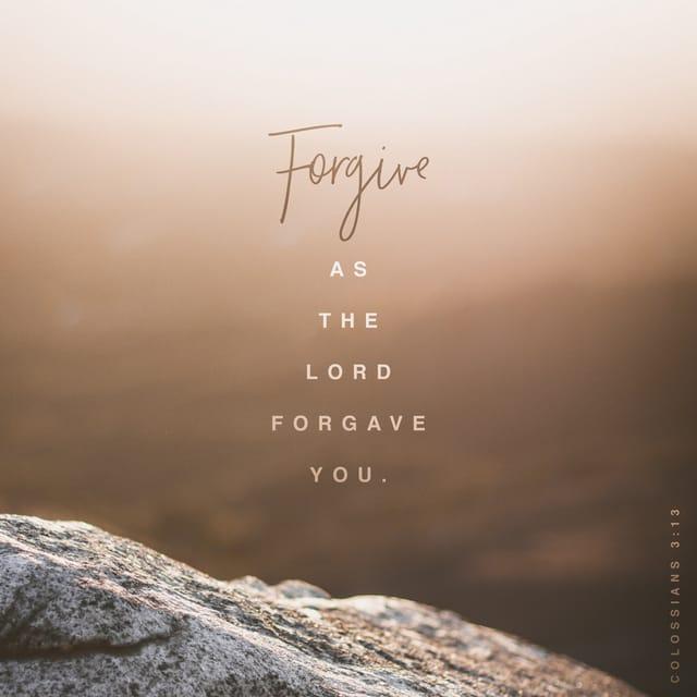 Colossians 3:13 NIV