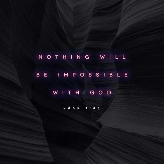 Luke 1:37 CSB